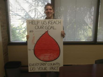PRSSA - American Red Cross Blood Drive Picture